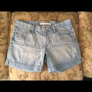 Old Navy Mid-Rise Jean Shorts | optional roll up